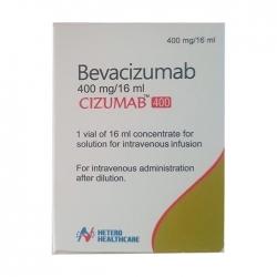 Thuốc ung thư Hetero Cizumab 400mg  Bevacizumab 400mg/16ml