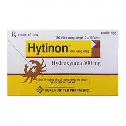 Hytinon 500mg Korea United, Hộp 10 vỉ x 10 viên          #Hydrea 500mg