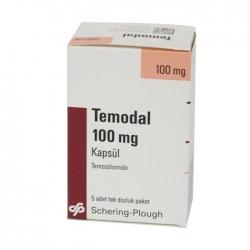 Thuốc ung thư MSD Temodal Temozolomid 100mg, Hộp 5 viên