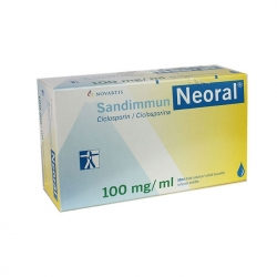 Thuốc ung thư Sandimmun Neoral 100mg/ml, chai 50ml