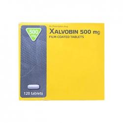 Thuốc ung thư Xalvobin 500mg, Hộp 120 viên