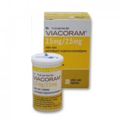 Thuốc Viacoram 3.5mg/2.5mg, Hộp 30 viên