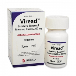 Thuốc Viread 300mg Tenofovir, Hộp 30 viên