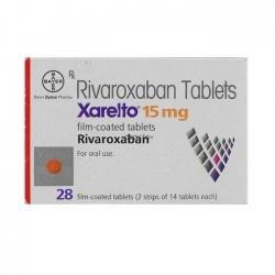 Thuốc Bayer Xarelt 15mg, Hộp 28 viên