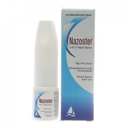 Thuốc xịt điều trị viêm mũi dị ứng Nazoster 0.05%
