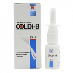 Thuốc xịt mũi Coldi B 15ml Nam hà