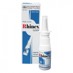 Thuốc xịt mũi RHINEX 0,05% TW25, Chai 15 ml