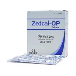 Thuốc Zedcal-OP, Hộp 30 Viên