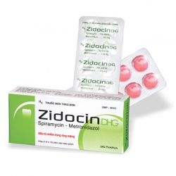 Thuốc ZidocinDHG, Hộp 20 viên