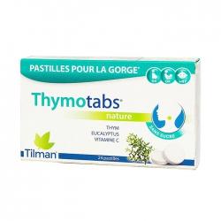 Kẹo ngậm ho thảo dược Thymotabs, Hộp 24 Viên
