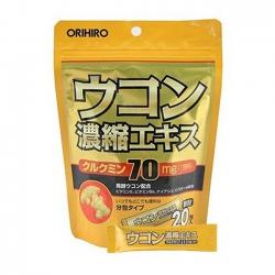 Tinh bột nghệ giải rượu Nhật Bản Ukon Orihiro | Túi 20 gói x 1,5g