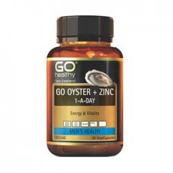 Tinh Chất Hàu Go Healthy Go Oyster Plus Zinc Của Úc, Chai  60 Viên