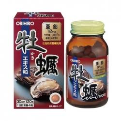 Tinh chất hàu Orihiro New Oyster Extract Tablets, Chai 120 viên