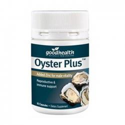 Tinh chất hàu tươi Goodhealth Oyster Plus, Hộp 60 viên