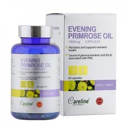 Tinh dầu hoa anh thảo Careline Evening Primrose Oil 1000mg, Chai 60 viên