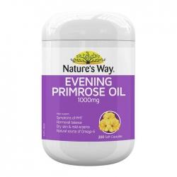 Tinh Dầu Hoa Anh Thảo Nature's Way Evening Primrose Oil 1000mg, 200 viên