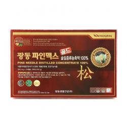 Tinh dầu thông đỏ Kwangdong, Hộp 120 viên