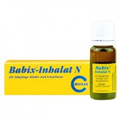 Tinh dầu trị cảm cúm Babix-Inhalat N, Lọ 10ml