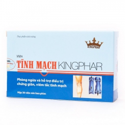 Tĩnh Mạch Kingphar - Hỗ Trợ Điều Trị Viêm Tĩnh Mạch