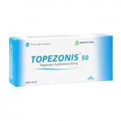 Topezonis 50 Agimexpharm 3 vỉ x 10 viên