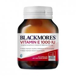 Tpbvsk Blackmores Vitamin E 1000IU, Chai 30 viên