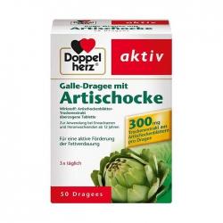 Tpbvsk bổ gan Doppelherz  Artischocke 300mg, Hộp 50 viên