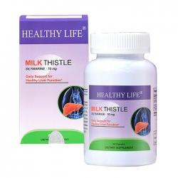 Tpbvsk bổ gan Healthy Life Milk Thistle, Chai 60 viên