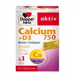 Tpbvsk bổ khớp Doppelherz Calcium 750mg Vitamin D3