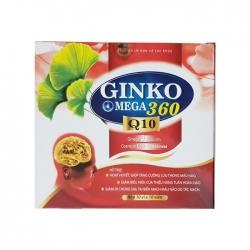 Tpbvsk bổ não Ginko Omega 360mg CoQ10 600mcg