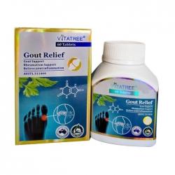 Tpbvsk hỗ trợ bệnh gút Vitatree Gout Relief, Hộp 60 viên