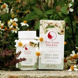 Tpbvsk Phát Bảo Tồn Sanh giúp mọc tóc, cải thiện chứng rụng tóc, bac tóc