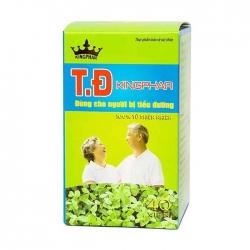 Tpbvsk tiểu đường T.Đ Kingphar, Hộp 40 viên