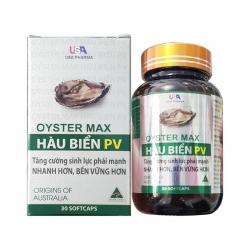 Tpbvsk tinh chất hàu USA Pharma Oyster Max Hàu biển PV, Hộp 30 viên