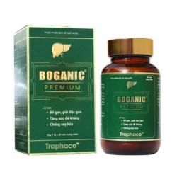 Tpbvsk Viên uống bổ gan Boganic Premium Traphaco 30 viên