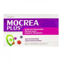 Tpbvsk Viên uống bồi bổ sức khỏe, tăng sức đề kháng Mocrea Plus, Hộp 30 viên