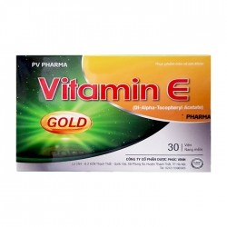 Tpbvsk Vitamin E Phúc Vinh, Hộp 30 viên