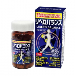 Tpbvsk xương khớp Libero Balance Japan, Chai 180 viên