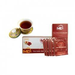 Trà Linh Chi Hòa Tan - Hộp 30 Gói (3 Gam X 30 Gói)