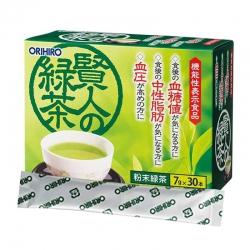 Trà xanh Orihiro Sage của Nhật Bản | Hộp 30 gói x 7g
