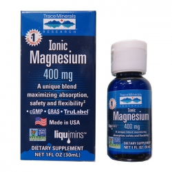 TraceMinerals Ionic Magnesium 400mg, Chai 30 ml