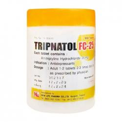 Tripnatol FC 25mg New Life Chai 1000 viên