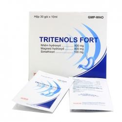 Thuốc Tritenols Fort, Hộp 30 gói x 10ml