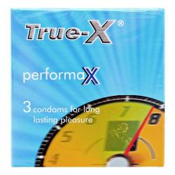 Bao cao su True-X performax kéo dài thời gian quan hệ (3 cái/hộp)