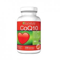 Trunature CoQ10 100mg giúp giảm nguy cơ mắc bệnh tim mạch
