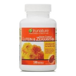Trunature Vision Complex Lutein & Zeaxanthin bổ mắt, tăng cường thị lực, Chai 140 viên