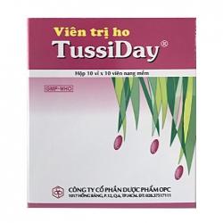 TussiDay OPC 10 vỉ x 10 viên - Viên trị ho