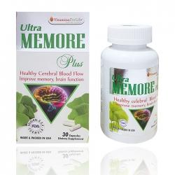 Viên tuần hoàn máu não Ultra Memore Plus Vitamins For Life, Hộp 30 viên