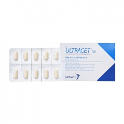Ultracet Janssen 3 vỉ x 10 viên