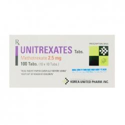 Unitrexates 2.5mg 10 vỉ x 10 viên
