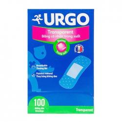 Urgo Transparent 100 miếng – Băng cá nhân